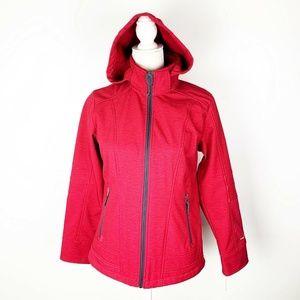 Free People Womens Hooded Jacket SZ PS Faux Fur